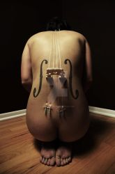 The Human Cello by Bonedaddybruce