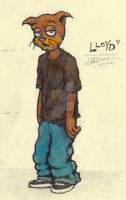 0/X: Lloyd [character design] 11-10-01 by MorXn