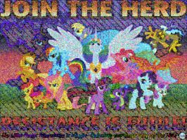 MOSAIC my little pony by marderchen
