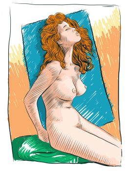 My First Digital Nude by EroticVisions