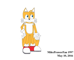 Random Tails drawing by MilesProwerFan1997