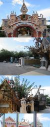 Zante Holiday Photos - Creepy Abandoned Park by Duckyworth