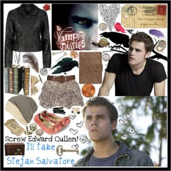 Collage of Stefan Salvatore by FutureMrsRpattz
