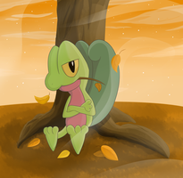 Treecko by Spirit-Of-Flame