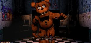 [Fnaf 2] Withered Freddy v3 by AustinTheBear