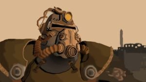 T51-B power armour by why-was-it-a-PIG