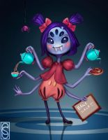 Muffet by Cahlline