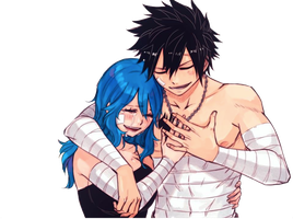 Gray y Juvia Render by Sejoriama