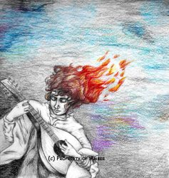 Kvothe-- The Name of the Wind by CinnamonSoldier