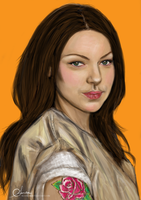 Alex Vause by suanlee