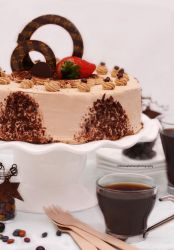 Cappuccino Mousse Cake by theresahelmer