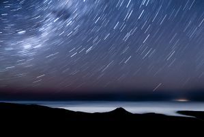 Southern Star Trails by Niv24
