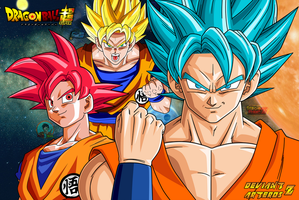 Wallpaper Dragonball Super by SergioFrancZ
