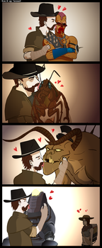 How AlChestBreach says goodbye to his Companions by Ran2Chaos