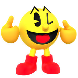 Pac Man Render by JaysonJeanChannel