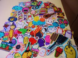 Stickers by angelectrico