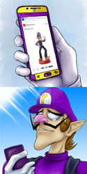 Waluigi Month Day 1 - Dreams do come true! by Sekhmet17