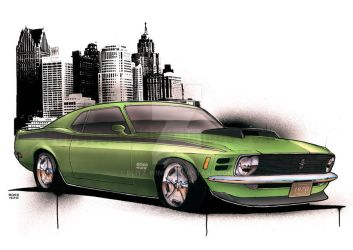 Boss 429 by Blitz-Wing