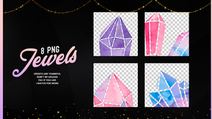 Jewels |PNG #01 by Mondai-Girl