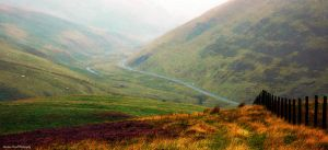 Winding through the valley by LordLJCornellPhotos