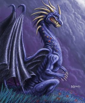 Blue Dragon by BillCorbett