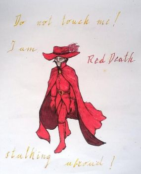 Red Death stalking abroad by Cronewitch