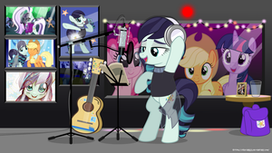 MLP Wallpaper - Recording in progress by jhayarr23