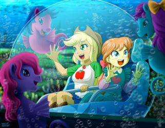 Under the Sea Adventure by uotapo