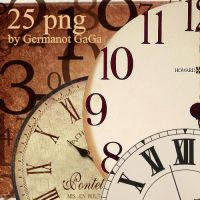 25 png clock by Agency-fonts