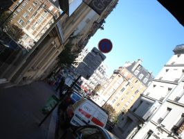Street view in the Latin Quarter by mari6s