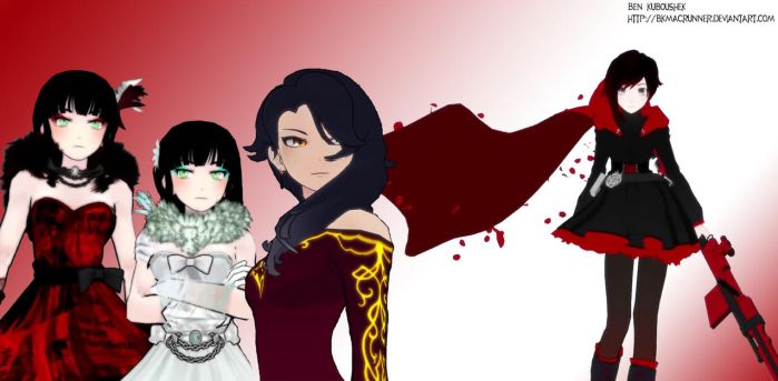Ruby and the evil ladies by bkmacrunner
