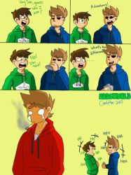 Poor Tord.... by ComicArtistWinna
