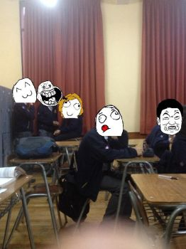 Memes in the Class! by Perry4DEVIAN191