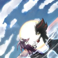 Shadow and Blaze 4 by Deimonday