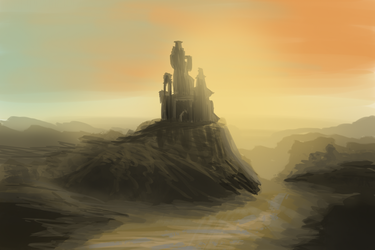 Desert Castle by Thane5