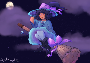 starry witch by st4rrytea