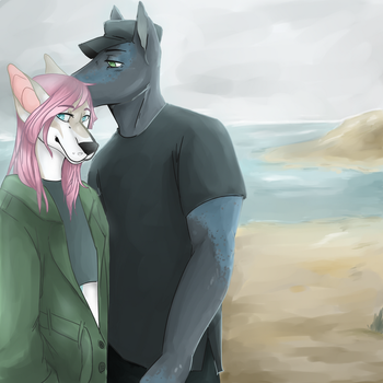 Aesthetic Couple by Misha-needs-love