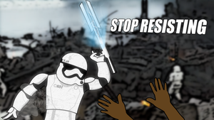 [REDBUBBLE] TR-8R - Anti-Traitor Riot Stormtrooper by KaptnKrunch09