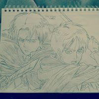 Levi and Eren by phobia1996