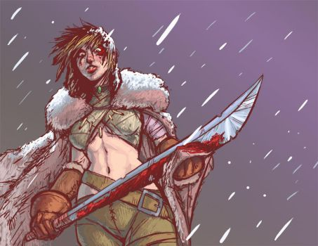 Barbarian Commission by ZackRI