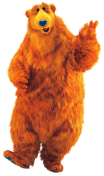 Bear - Bear In The Big Blue House PNG by DDxxCrew