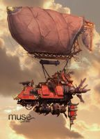 Ornamental Airship by musegames