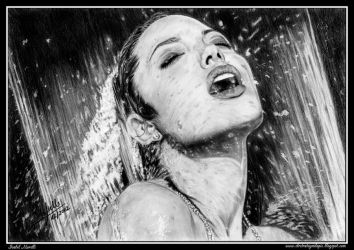 Angelina Jolie by iSaBeL-MR