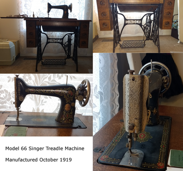 Singer Treadle Machine by Nerds-and-Corsets