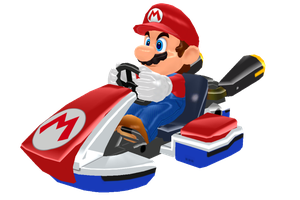 MMD Mario Kart v0.5 + Pose (DL) by arisumatio