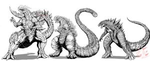 The Trio of G's by Gabe-TKE