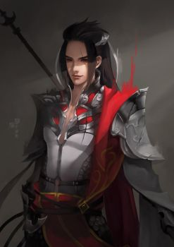 JX Online 3 - Ancient Chinese soldier by long5009
