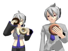MMD - Donuts Download by AbsentWhite