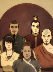 Avatar Team by andrahilde