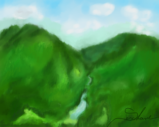 Mountains by Seschare